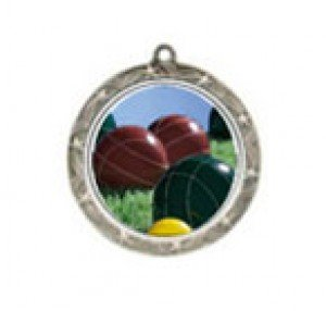 Shooting Star Bocce Ball Neck Medal