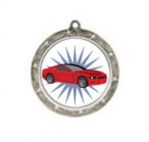 Car Shooting Star Neck Medal