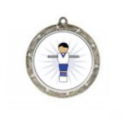 Foosball Figure Shooting Star Neck Medal