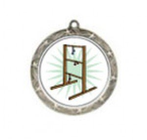 Ladder Golf Shooting Star Neck Medal