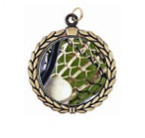 Victory Lacrosse Neck Medal