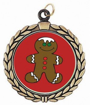 Victory Gingerbread Neck Medal