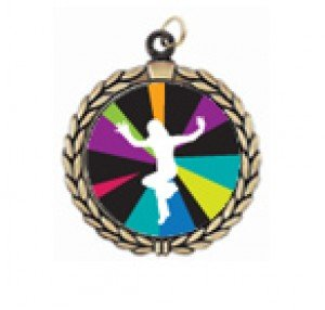 Just Dance Wii Victory Neck Medal