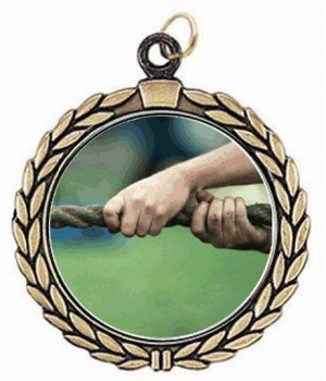 Victory Tug of War Neck Medal