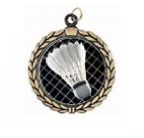 Victory Badminton Neck Medal