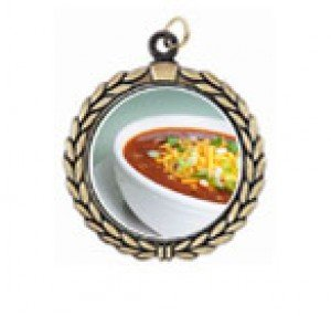 Victory Chili Bowl Cook Off Neck Medal