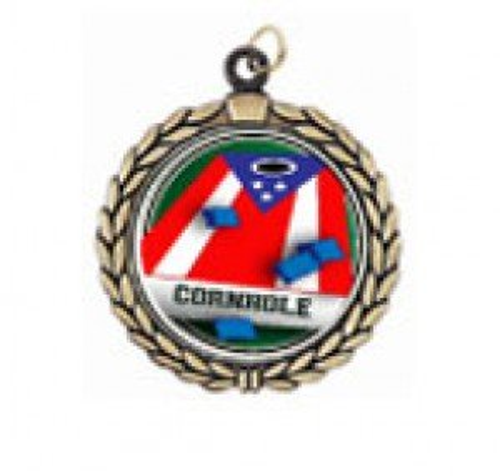 Cornhole Victory Neck Medal