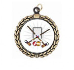 Victory Croquet Neck Medal