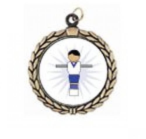 Foosball Figure Victory Neck Medal