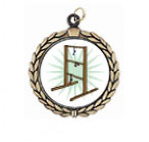 Victory Ladder Golf Neck Medal