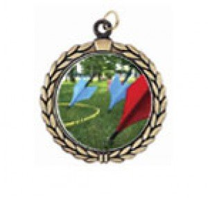 Victory Lawn Darts Neck Medal