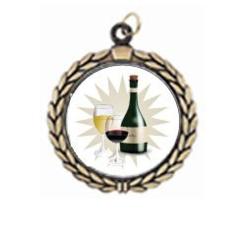 Victory Wine Tasting Neck Medal