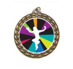 Just Dance Wii Vintage Neck Medal