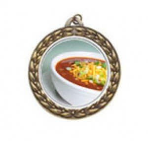 Chili Bowl Cook Off Vintage Neck Medal