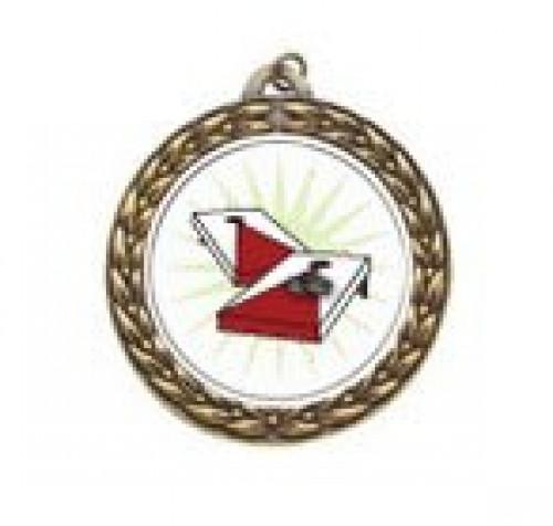 Cornhole Vintage Neck Medal
