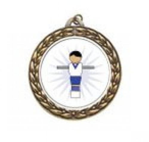 Foosball Figure Vintage Neck Medal