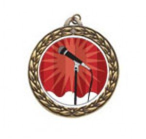Karaoke Vintage Neck Medal