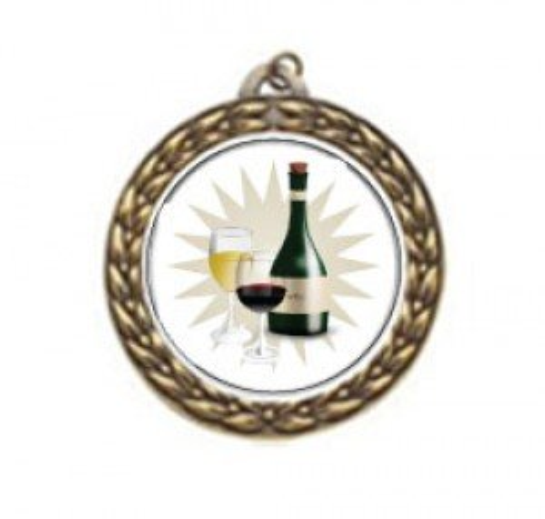 Vintage Wine Tasting Neck Medal