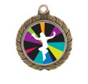 Just Dance Wii Victorious Neck Medal