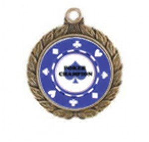 Poker Victorious Neck Medal