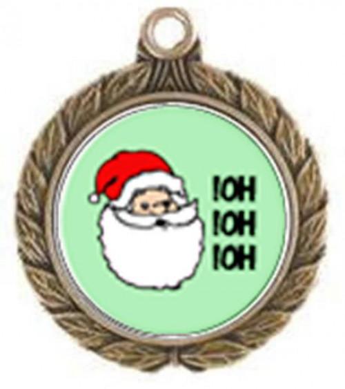 Victorious Santa Neck Medal