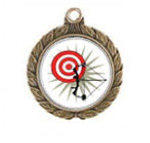 Victorious Archery Neck Medal
