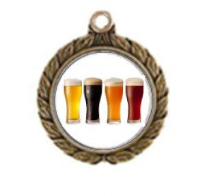 Victorious Beer Tasting Neck Medal