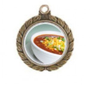 Chili Bowl Cook Off Victorious Neck Medal