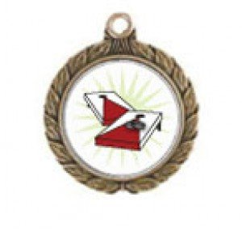 Cornhole Victorious Neck Medal