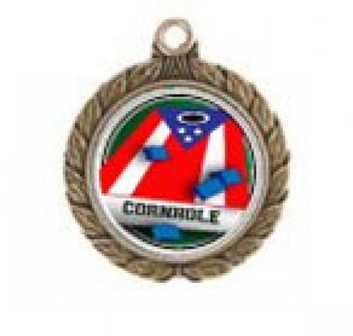 Cornhole Patriotic Victorious Neck Medal