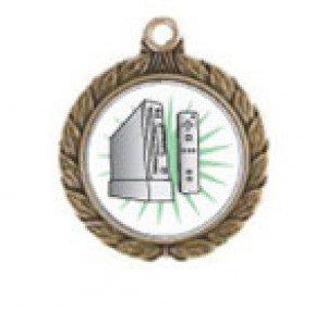 Wii Victorious Neck Medal