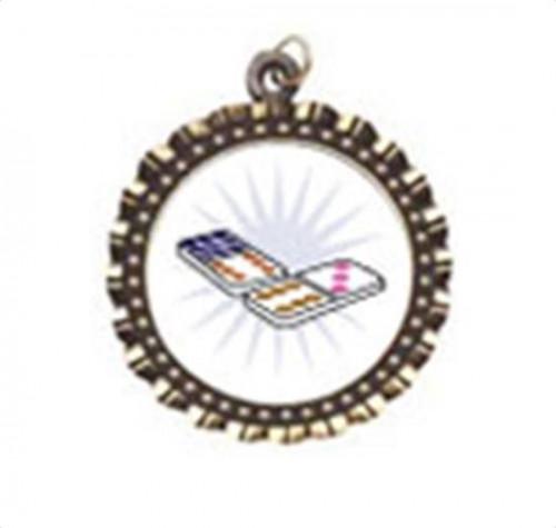 Dominoes Neck Medal