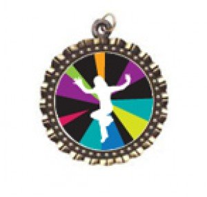 Just Dance Wii Neck Medal