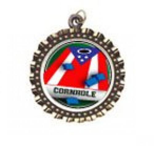 Cornhole Patriotic Neck Medal