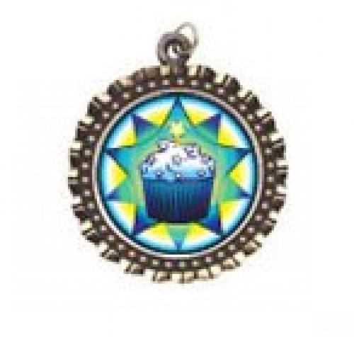 Cupcake Neck Medal
