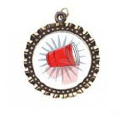 Flip Cup Neck Medal