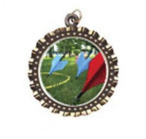 Lawn Darts Neck Medal
