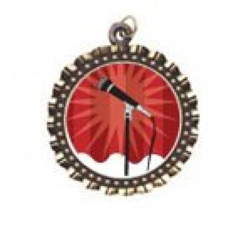 Karaoke Neck Medal
