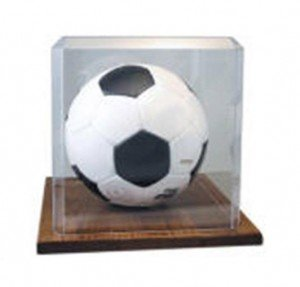 Soccer Ball Acrylic Display Case