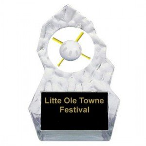 Wiffle Ball Lightning Sculpted Trophy