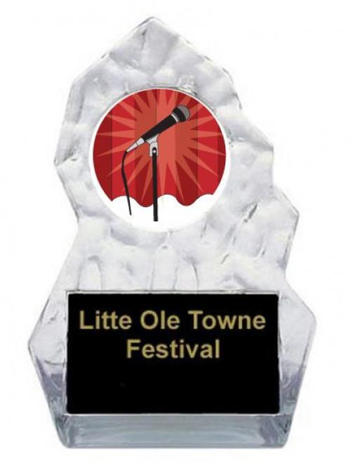 Lightning Sculpted Karaoke Trophy