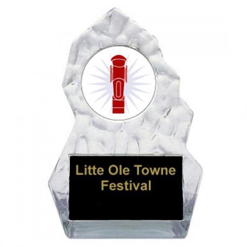 Lightning Sculpted Foosball Trophy