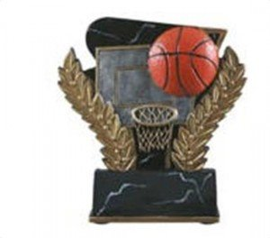 Basketball 6 Inch Resin Trophy