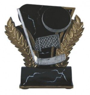 Hockey 6 Inch Resin Trophy