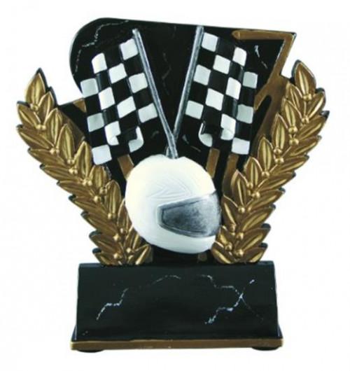Racing 6 Inch Resin Trophy
