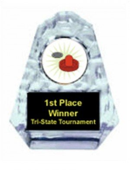 Air Hockey Sculpted Ice Award