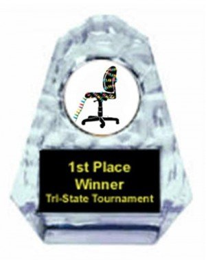 Christmas Cubicle Sculpted Ice Award