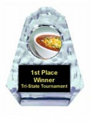 Chili Bowl Cook Off Sculpted Ice Award