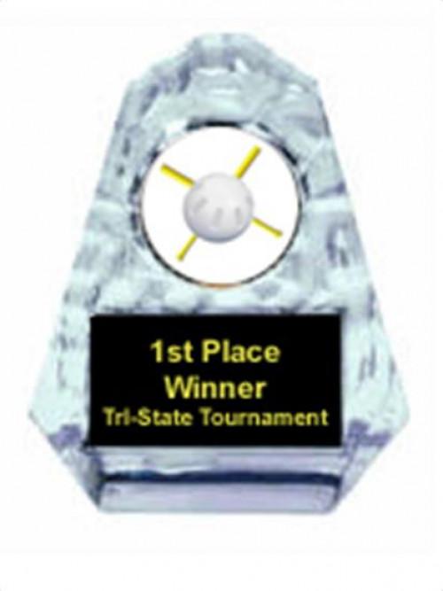Wiffle Ball Sculpted Ice Award