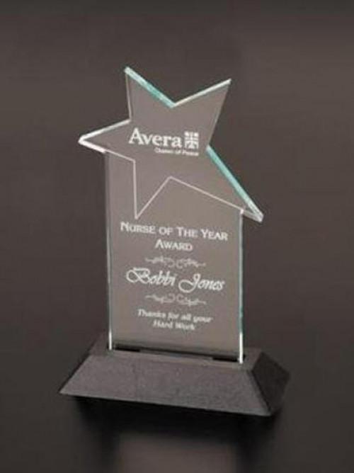 Crystal Star Acrylic Award